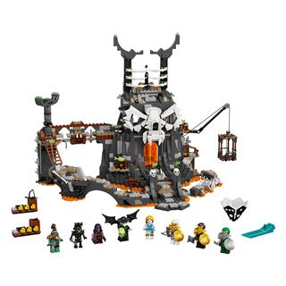 LEGO 71722 - LEGO NINJAGO - A koponyavarázsló tömlöcei