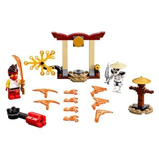 LEGO 71730 - LEGO NINJAGO - Hősi harci készlet - Kai vs Skulkin