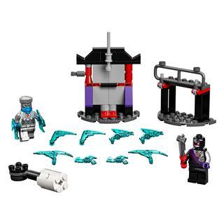 LEGO 71731 - LEGO NINJAGO - Hősi harci készlet - Zane vs Nindroid