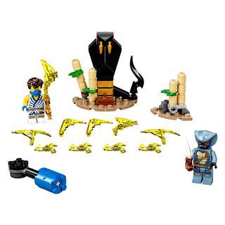LEGO 71732 - LEGO NINJAGO - Hősi harci készlet - Jay vs Serpentine
