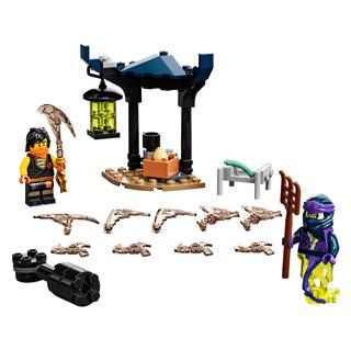 LEGO 71733 - LEGO NINJAGO - Hősi harci készlet - Cole vs Kísértet...