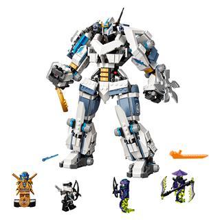 LEGO 71738 - LEGO NINJAGO - Zane mechanikus Titánjának csatája