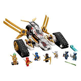 LEGO 71739 - LEGO NINJAGO - Ultrahangos támadó