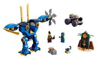 LEGO 71740 - LEGO NINJAGO - Jay Elektrorobotja
