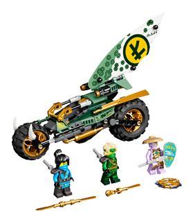 LEGO 71745 - LEGO NINJAGO - LIoyd dszungel chopper motorja