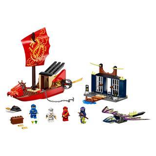 LEGO 71749 - LEGO NINJAGO - A Sors Adománya utolsó repülése