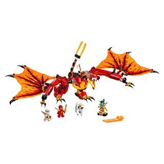 LEGO 71753 - LEGO NINJAGO - Tűzsárkány támadás