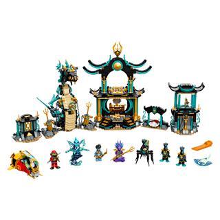 LEGO 71755 - LEGO NINJAGO - A Végtelen Tenger temploma