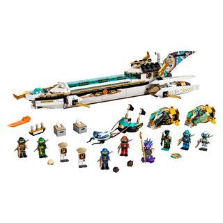 LEGO 71756 - LEGO NINJAGO - Vízi fejvadász