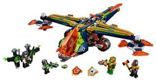 LEGO 72005 - LEGO Nexo Knights - Aaron X-hajója