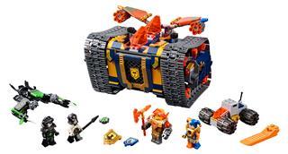 LEGO 72006 - LEGO Nexo Knights - Axl Guruló arzenálja