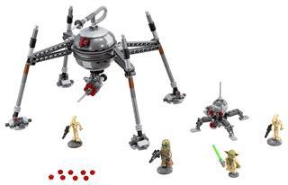 LEGO 75142 - LEGO Star Wars - Önvezérlő pókdriod