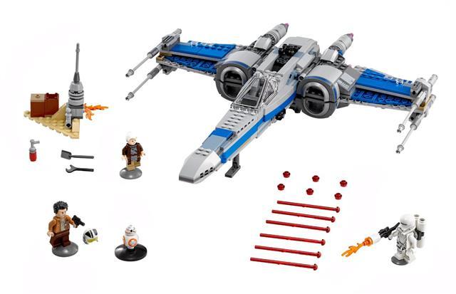 LEGO 75149 - LEGO Star Wars - Az Ellenállás X-Szárnyú va...