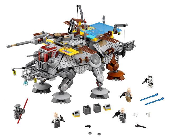 LEGO 75157 - LEGO Star Wars - Rex kapitány AT-TE™ lépegetője