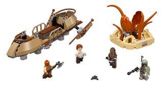 LEGO 75174 - LEGO Star Wars - Szökés a Desert Skiff-ből