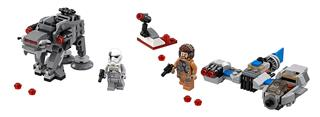 LEGO 75195 - LEGO Star Wars - Sky Spedder vs First Order Walker