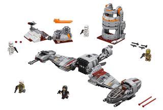 LEGO 75202 - LEGO Star Wars - Crait védelme