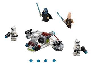 LEGO 75206 - LEGO Star Wars - Jedi és klónkatona harci csomag