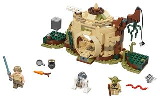 LEGO 75208 - LEGO Star Wars - Yoda kunyhója