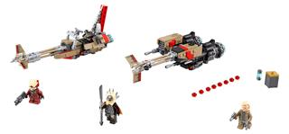 LEGO 75215 - LEGO Star Wars - Cloud rider swoop bikes