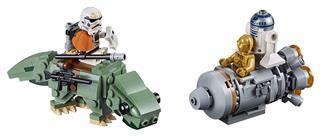 LEGO 75228 - LEGO Star Wars - Mentőkabin a Dewback™ ellen Microfi...