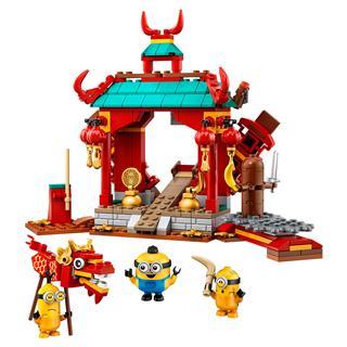 LEGO 75550 - LEGO Minions - Minyonok Kung Fu csatája