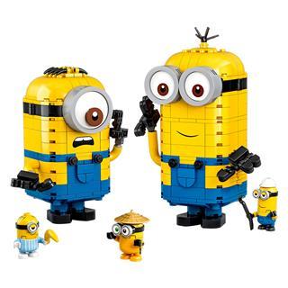 LEGO 75551 - LEGO Minions - Kocka minyonok és barlangjuk