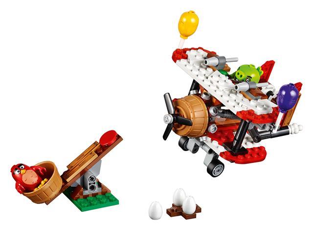 LEGO 75822 - LEGO Angry Birds - Piggy repülős támadás