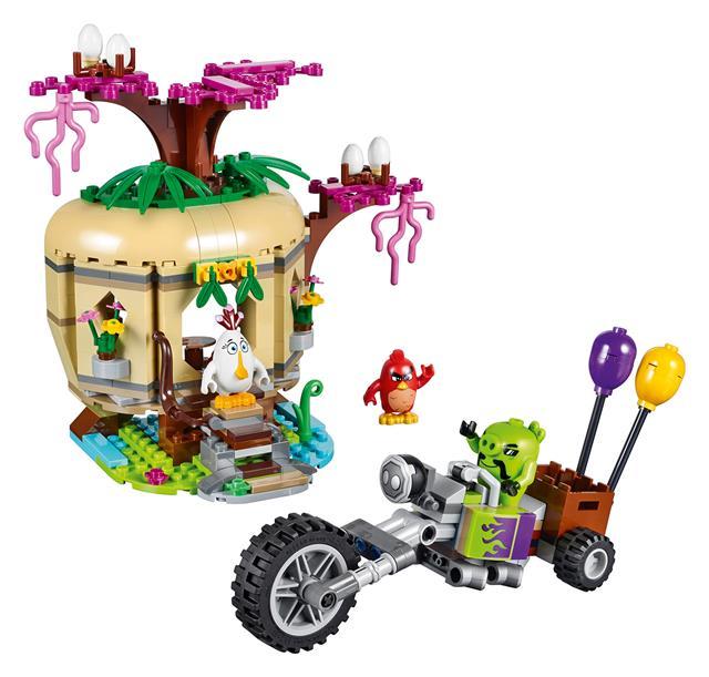 LEGO 75823 - LEGO Angry Birds - A madár-szigeti tojásrablás