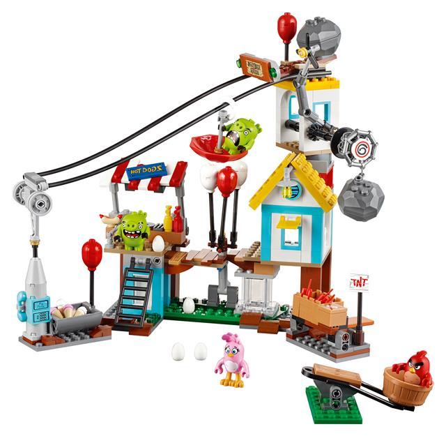 LEGO 75824 - LEGO Angry Birds - Pig City lerombolása