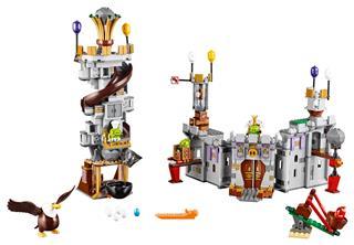 LEGO 75826 - LEGO Angry Birds - Pig királyi kastély