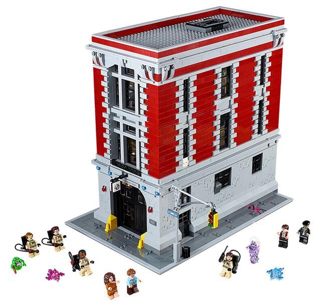 LEGO 75827 - LEGO Ghostbusters - Tűzoltó kapitányság