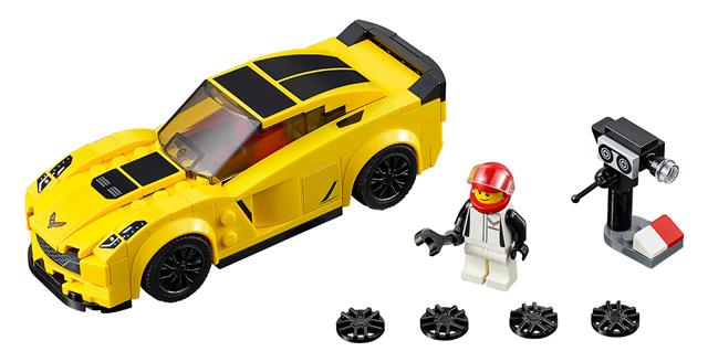 LEGO 75870 - LEGO Speed Champions - Chevrolet Corvette Z06