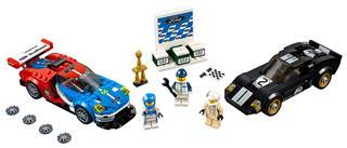 LEGO 75881 - LEGO Speed Champions - 2016-os Ford GT és 1966-os Fo...