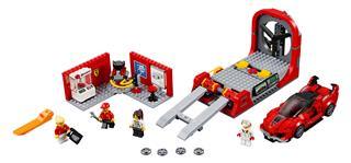 LEGO 75882 - LEGO Speed Champions - Ferrari FXX kutató és fejlesz...