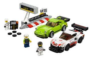 LEGO 75888 - LEGO Speed Champions - Porsche 911 RSR és 911 Turbo 3.0