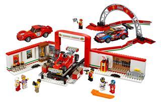 LEGO 75889 - LEGO Speed Champions - Exkluzív Ferrari garázs