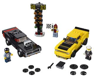 LEGO 75893 - LEGO Speed Champions - 2018 Dodge Challenger SRT Dem...