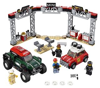 LEGO 75894 - LEGO Speed Champions - 1967 Mini Cooper S Rally és 2...