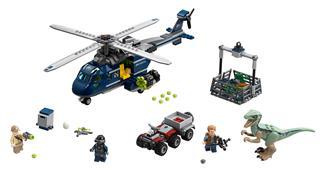 LEGO 75928 - LEGO Jurassic World - Blue helikopteres üldözése