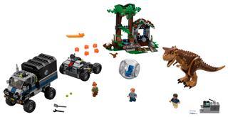 LEGO 75929 - LEGO Jurassic World - Carnotaurus menekülés a guruló...