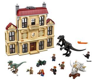 LEGO 75930 - LEGO Jurassic World - Dühöngő Indoraptor a Lockwood ...