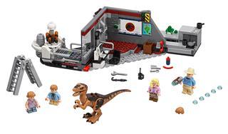 LEGO 75932 - LEGO Jurassic World - Jurassic Park - Velociraptor ü...