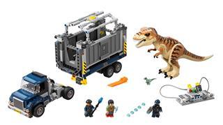 LEGO 75933 - LEGO Jurassic World - T-Rex szállítás