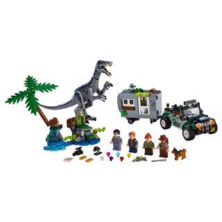 LEGO 75935 - LEGO Jurassic World - Baryonyx bonyodalom: A kincsva...