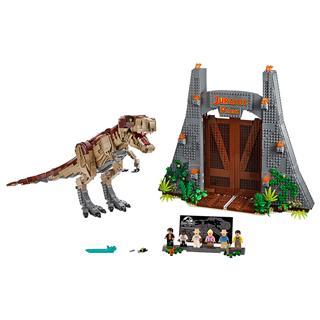 LEGO 75936 - LEGO Jurassic World - Jurassic Park: T. rex tombolás