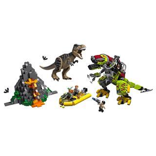 LEGO 75938 - LEGO Jurassic World - T. rex és Dino-Mech csatája