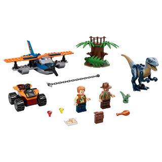 LEGO 75942 - LEGO Jurassic World - Velociraptor: Kétfedelű repülő...