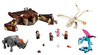 LEGO 75952 - LEGO Fantastic Beasts - Göthe bőröndje a varázslatos...