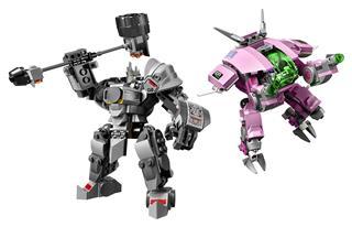 LEGO 75973 - LEGO Overwatch - D.Va és Reinhardt